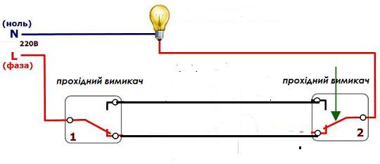 Мал.1. Схема підключення